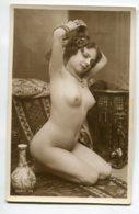 NU French Charm 051 Jean  AGELOU JA Série 39  Modèle FERNANDE  Nu Cambrée Bras Relevés   Orientalisme Bijoux  EROTISME - Fine Nudes (adults < 1960)