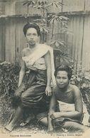 Femmes Siamoise Siamese Girls  No 5 J. Antonio . Undivided Back - Thaïlande