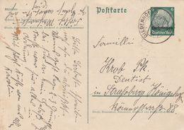 France Lorraine Occupation Allemande Entier Postal Diedenhofen 1940 - Marcophilie (Lettres)