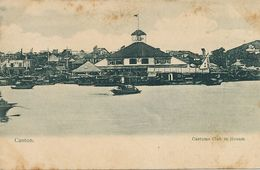 Canton Customs Club In Honam. Club Des Doaunes   Undivided Back . The Hongkong Pictorial - China