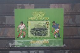 Fußball, Blockausgabe Bulgarien, Ungebraucht - Fußball-Weltmeisterschaft