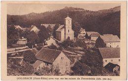 68. GOLDBACH Avec Vue Sur Les Ruines Du Freundstein - Sonstige Gemeinden