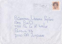 Nederland - Vlagstempel - Open Dag KLU - 8 Juni 1991 - Vliegbasis Twenthe - Militaria