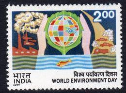 India 1977 World Environment Day, MNH, SG 848 (D) - Neufs