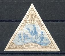 RC 17673 OBOCK COTE 1000€ N° 63 TYPE MÉHARISTES TIMBRE RARE NEUF * MH  ( VOIR DESCRIPTION ) - Ungebraucht