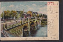 NBL3 /    Magdeburg , Zollbrücke 1902 - Hoeylaert - Magdeburg