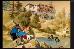 TINTIN. Tintin Et Le Lac Aux Requins. - Comics