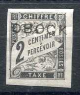 RC 17676 OBOCK COTE 47€ N° 6 TAXE TYPE DUVAL SURCHARGÉ NEUF * TB MH VF - Obock (1892-1899)