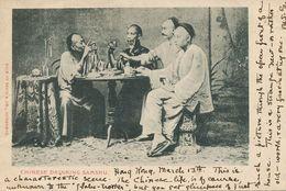Hongkong  Chinese Drinking Samshu Rice Alcohol Edit Sayce . P. Used Hongkong Stamp . Some Creases Right Side - China (Hong Kong)