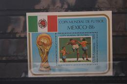 Fußball, Blockausgabe: Cuba, Ungebraucht - Fußball-Weltmeisterschaft