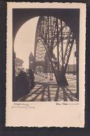 NBL3 /    Magdeburg , Hindenburgbrücke / Else Bäumer Foto AK - Magdeburg