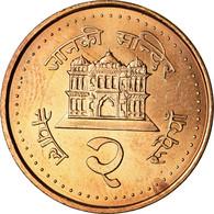 Monnaie, Népal, SHAH DYNASTY, Gyanendra Bir Bikram, 2 Rupees, 2003, Kathmandu - Nepal