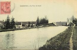 - Loiret -ref-A747-  Dordives - Le Pont Du Canal - Canaux - Carte Colorisée Bon Etat - - Dordives