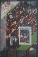 Fußball, Blockausgabe: Nevis, Ungebraucht - Fußball-Weltmeisterschaft