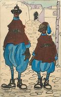 Themes Div-ref EE952bis -illustrateurs -illustrateur -maroc Humoristique -humour - Etoiles De La  Police Marocaine - Illustrateurs & Photographes