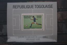 Fußball, Blockausgabe: Togo, Ungebraucht - Fußball-Weltmeisterschaft