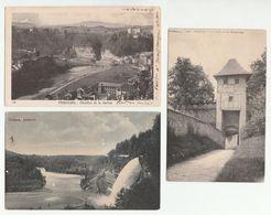FRIBOURG - Lot De 3 CPA - La Porte De Maigrauge / Pérolles Et La Sarine / Hauterive - FR Fribourg