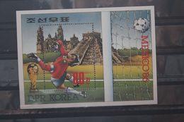 Fußball, Blockausgabe: Korea, Ungebraucht - Fußball-Weltmeisterschaft