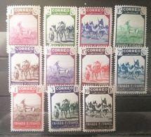 Sahara Español N°63/74.sin Charnela - Sahara Spagnolo