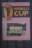 Fußball, Blockausgabe: Union Island, Ungebraucht - Fußball-Weltmeisterschaft