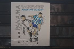 Fußball, Blockausgabe: Panama, Ungebraucht - Fußball-Weltmeisterschaft