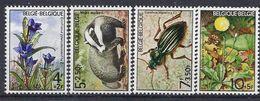 Belgio / Belgien 1974 Fauna E Flora / Fauna Und Flora - Ungebraucht