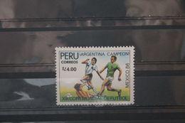 Fußball, Peru, Ungebraucht - Fußball-Weltmeisterschaft