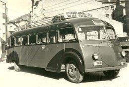 Ancien Autobus ISOBLOC  -  Ligne: Les Escaldes - Andorra La Vella  -  15x10cm PHOTO - Bus & Autocars