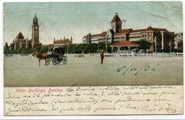 8.11.1906 Cartolina BOMBAY (MUMBAI) Per Shangai - India