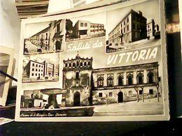VITTORIA RAGUSA  SALUTI VEDUTE  SCUOLE LICEO  MEDIA  ELEMENTARI MAGISTRALE  GINNASIO VB1958 HQ9301 - Vittoria