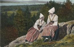 Sweden - Leksand - Popular Costume - Sweden
