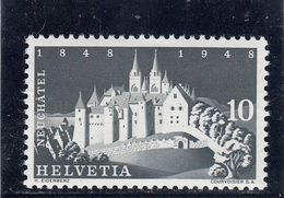 Suisse - Année 1948 - Neuf** - N°YT 454** - Centenaire De La Révolution Neuchâteloise - Neufs