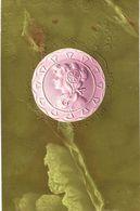 Carte   POSTALE   Ancienne De  ILLUSTRATEUR  -  Visage En Relief - Illustrateurs & Photographes