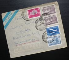 Argentina 1959 Multi Franked Cover To Maribor Slovenia B1 - Covers & Documents