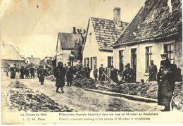 Carte   POSTALE   Ancienne De  PRISONNIERS De GUERRE - Prisonniers Français à MUNSTER (Westphalie) - Autres