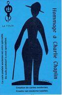 1978 J.P. ROSTENNE - Expert Cartophile - HOMMAGE A CHARLIE CHAPLIN - Création De Cartes Modernes - LA FIBULE - Beursen Voor Verzamellars