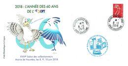 Nouvelle Calédonie Premier Jour Salon Des Collectionneurs 8-6-2018 - FDC
