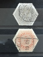 TG 8-9 Oblitérés TB Rare - Telegraphenmarken