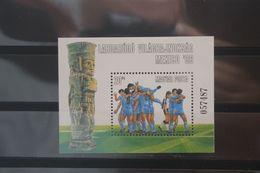 Fußball-W'M Mexico 86, Blockausgabe Ungarn, Ungebraucht - Fußball-Weltmeisterschaft