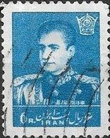 1958 Mohammed Riza Pahlavi - 6r - Blue FU - Iran