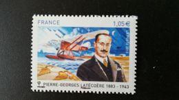 France Timbre NEUF N° 4794 -  Année 2013 - Pierre Georges Latécoère, Portrait, Hydravion, Globe Terrestre - Unused Stamps