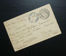 Italy 1912 Postcard Sent To Vranje Serbia B1 - Usati