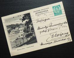 Yugoslavia 1938 Serbia VRNJACKA BANJA Ilustrated Postal Stationery B2 - Usati