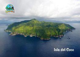 Cocos Island Aerial View UNESCO Costa Rica New Postcard Kokos-Insel AK - Costa Rica