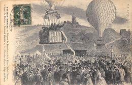 PARIS-75018- MONTMARTRE, DEPART DE GAMBETTA DE LA PLACE ST-PIERRE A BORD DU BALLON, ARMAND BARBES , 7 OCTOBRE 1870 - Paris (18)