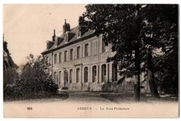 CPA 14 - LISIEUX (Calvados) - 904. La Sous-Préfecture - Lisieux