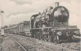AK Les Locomotives Francaises Reseau Etat 58 Locomotive Machine Pacific Serie 231.500 Chemin De Fer Train Rapide Royan - Royan