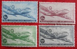 Luchtpost Poste Aérienne 1946 OBP PA/LP 8-11 (Mi 751-754) POSTFRIS /MNH ** BELGIE BELGIUM - Airmail