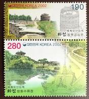 South Korea 2002 Hwaseong Fortress MNH - Korea (Zuid)