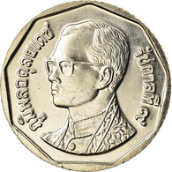 Monnaie, Thaïlande, Rama IX, 5 Baht, 2001, SPL, Copper-Nickel Clad Copper - Thailand